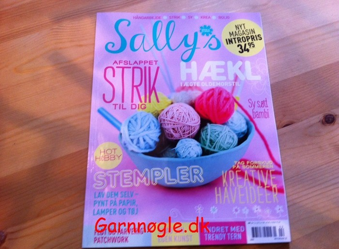 Nyt håndarbejdsblad – Sallys