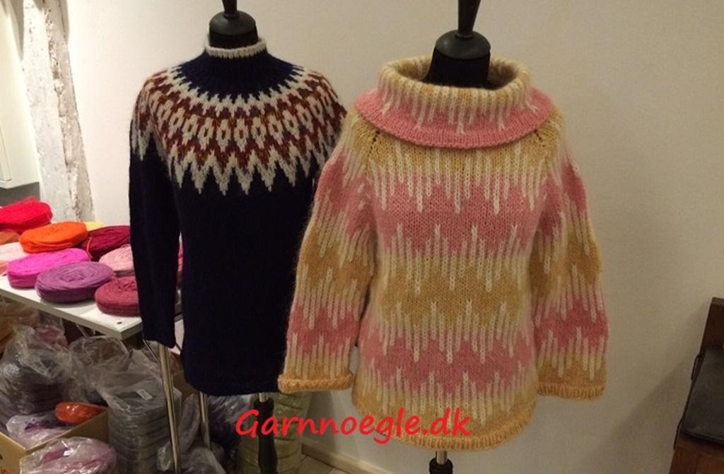 Islandske strikkedage på Nordatlantens Brygge